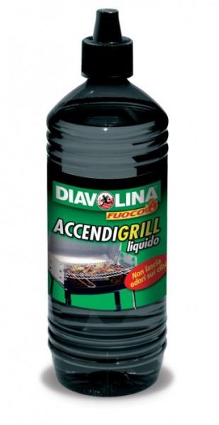 ACCENDIFUOCO LIQUIDO DIAVOLINA litri 1