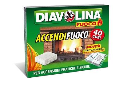 ACCENDIFUOCO DIAVOLINA 40 ACCENSIONI