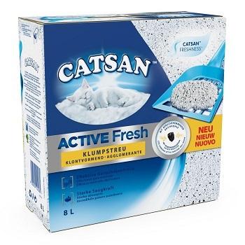 CATSAN ACTIVE FRESH AGGLOMERANTE LT.8
